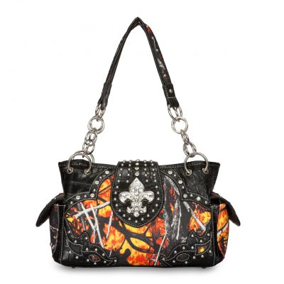 Moon Shine Camouflage Handbag Wildfire