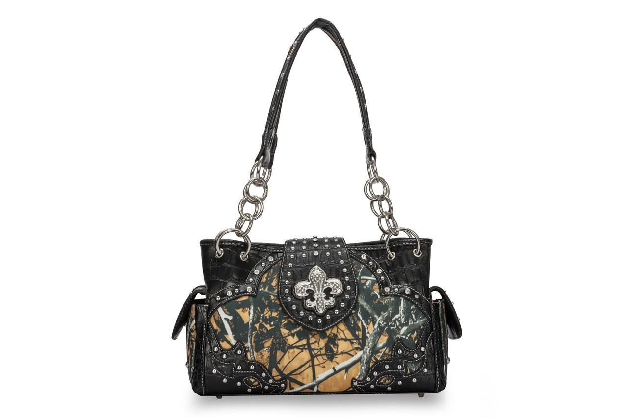 Moon Shine Camouflage Handbag Outshine