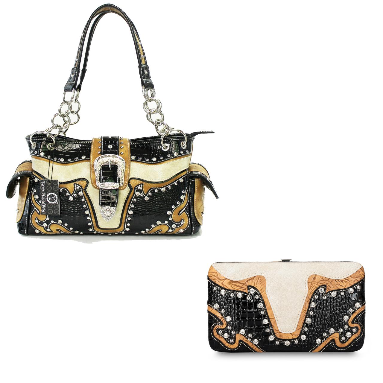 Western Conceal Carry Handbag