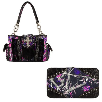 Moon Shine Muddy Girl Handbag & Wallet